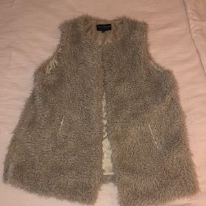 Tan Fur Vest (Never Worn)